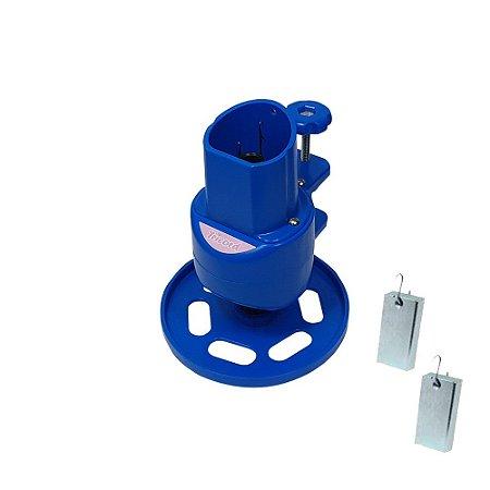 Maquina de Tricotin Resistente e Durável Cor Azul- TRICORD