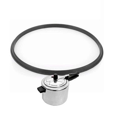 Borracha p/ panela pressão 4,5 até 7 litros reforçada