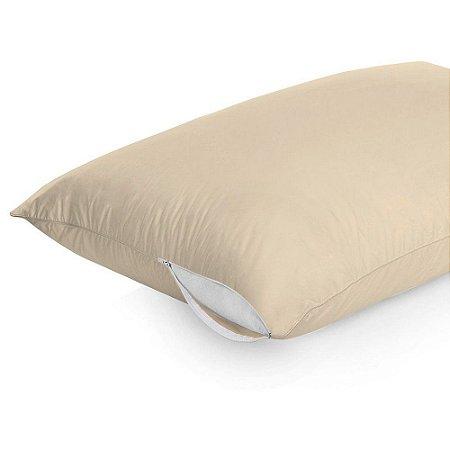Protetor Capa De Travesseiro Antiácaro Com Zíper Lavável