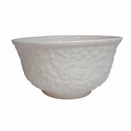 Kit 6 Tigelas Bowl 400ml Porcelana Flowers