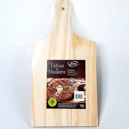 Tábua de Corte em madeira p/ cortar e servir carnes legumes