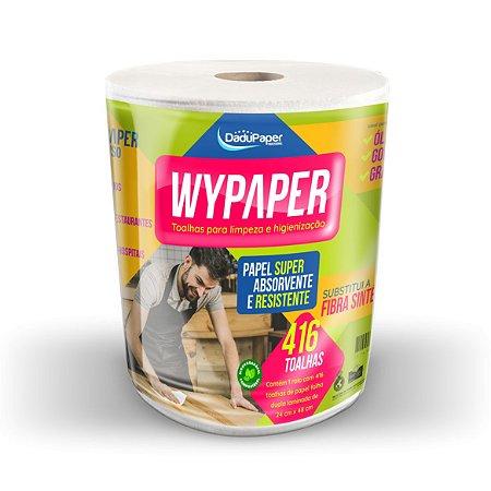 Toalhas em bobina para limpeza e higienização Wypaper c/01 bobina