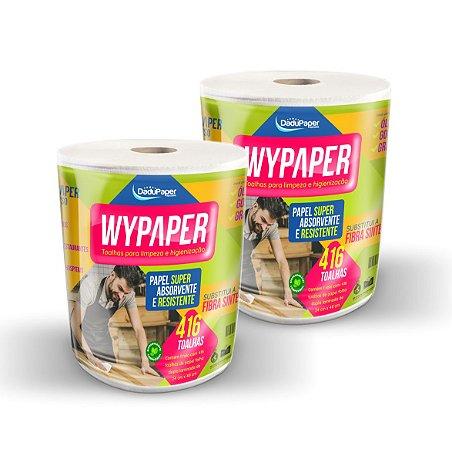 Toalhas em bobina para limpeza e higienização Wypaper - Combo c/02 bobinas