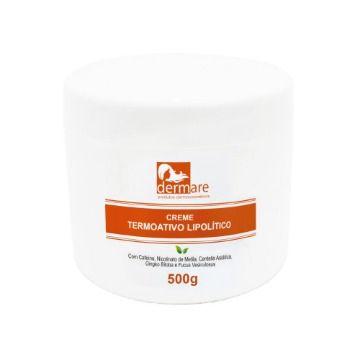 Creme Termoativo Anti Celulite Lipolítico 500g - Dermare