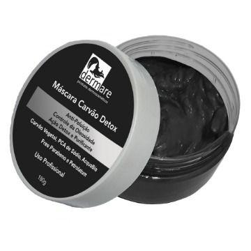 Máscara Carvão Detox 180g Dermare