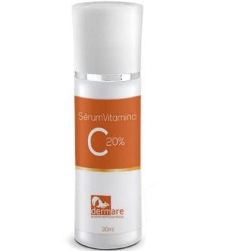 Sérum Antirrugas E Clareador Vitamina C Pura 20% Dermare