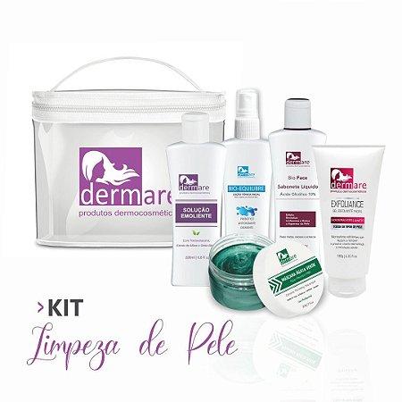 Kit Limpeza de Pele 5 itens Dermare