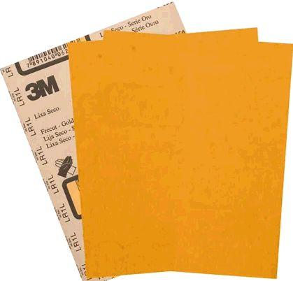 3M Lixa Seco Ouro 326U P80 (1und)