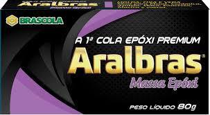 Brascola Massa Epoxi Aralbras (80gr)