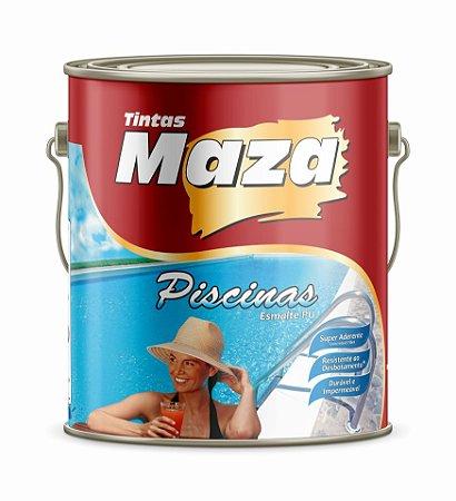 Maza Kit Tinta para Piscina Azul Esmalte Pu (4,5L)