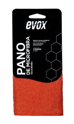 Evox Pano de Microfibra 29x29cm (3un)