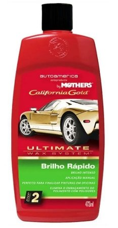 Mothers Cera Brilho Rápido Sem Silicone Ultimate Wax (473ml)