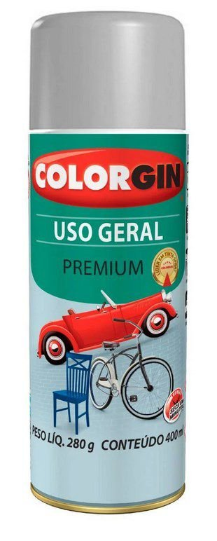 Colorgin Spray Uso Geral Aluminio para Rodas 55001 (400ml)