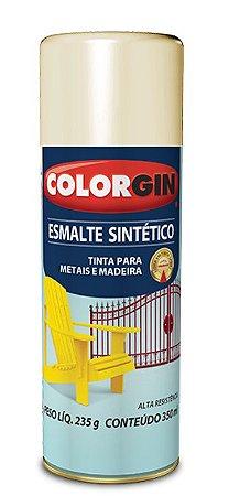 Colorgin Spray Esmalte Sintético Areia 750 (350ml)