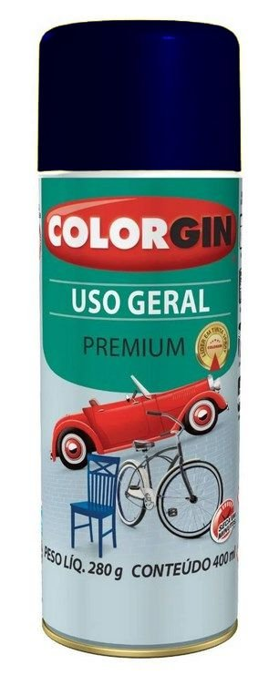 Colorgin Spray Uso Geral Azul Colonial 55071 (400ml)
