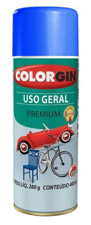 Colorgin Spray Uso Geral Azul Médio 55101 (400ml)