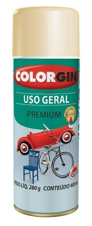 Colorgin Spray Uso Geral Bege Amêndoa 55251 (400ml)