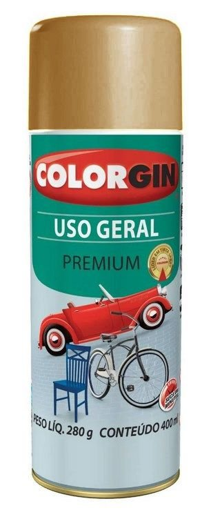 Colorgin Spray Uso Geral Bege Bege Brastemp 55241 (400ml)