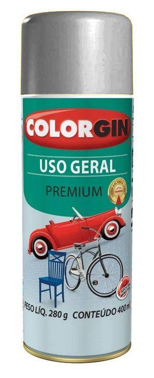 Colorgin Spray Uso Geral Cinza Placa 55041 (400ml)