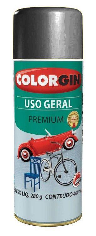 Colorgin Spray Uso Geral Grafite Metálico para Rodas 57001 (400ml)