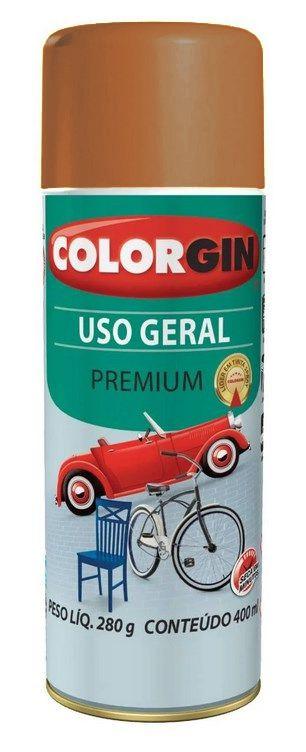 Colorgin Spray Uso Geral Marrom Barroco 55271 (400ml)