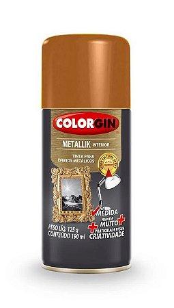 Colorgin Spray Metallik Cobre 554 (190ml)