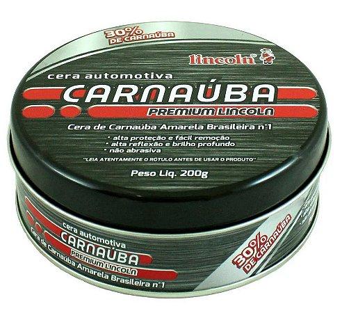 Lincoln Cera de Carnaúba Premium (200g)