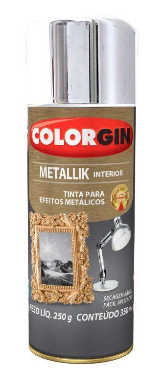 Colorgin Spray Metallik Cromado 51 (350ml)