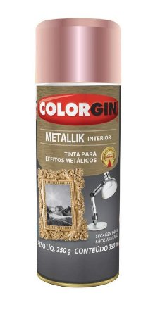 Colorgin Spray Metallik Rose Gold 56 (350ml)