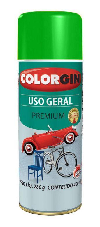 Colorgin Spray Uso Geral Verde 55091 (400ml)