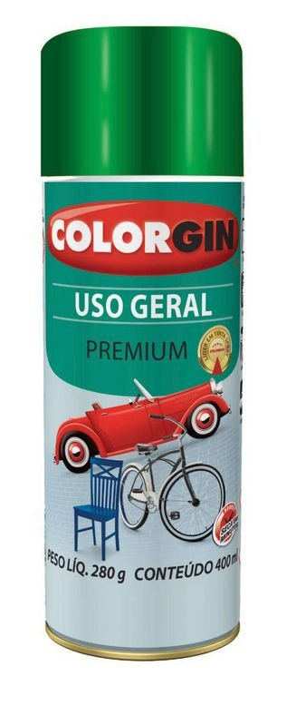 Colorgin Spray Uso Geral Verde Amazonas 57031 (400ml)