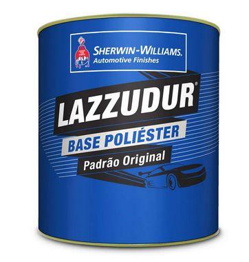 Lazzudur Tinta Poliester Prata Rodas Tecnologia (900ml)