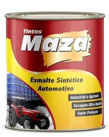 Maza Esmalte Automotivo Preto S-Fosco (900ml)