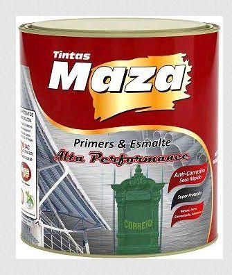 Maza Esmalte Martelado Cinza Claro (900ml)