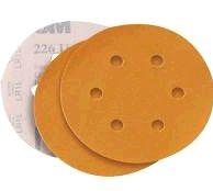 3M Disco de Lixa Ouro Hookit 236U 6 Furos grão P120 (1und)