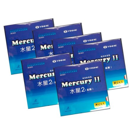 Kit 6 borrachas Mercury 2 vermelha
