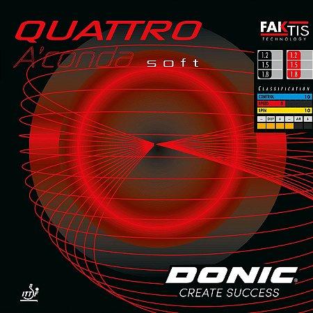Borracha Donic QUATTRO A'conda soft 1.8