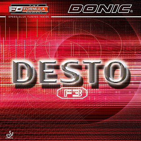 Borracha Donic Desto F3