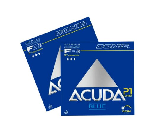 Kit 2 Borrachas Donic Acuda P1 Blue Turbo