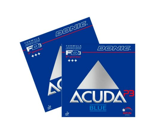 Kit 2 Borrachas Donic Acuda P3 Blue