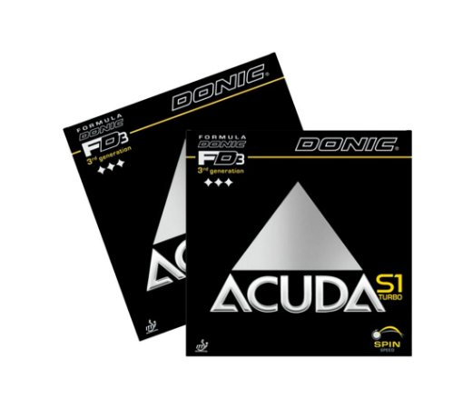 Kit 2 Borrachas Donic Acuda S1 Turbo