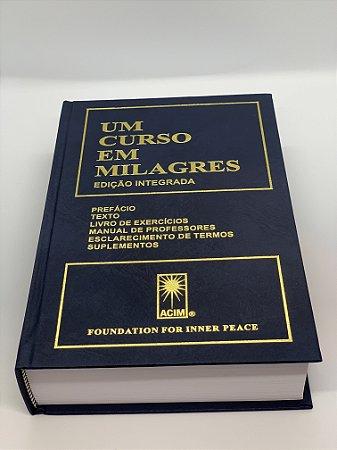 Um Curso em Milagres - 2ª edição - UCEM Capa Dura