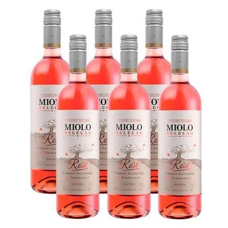 VINHO MIOLO SELEÇÃO ROSÉ 750ML (6 GARRAFAS)