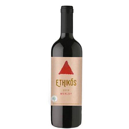 VINHO ETHIKOS MERLOT 750ML