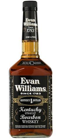 WHISKY EVAN WILLIANS BLACK LABEL 1L