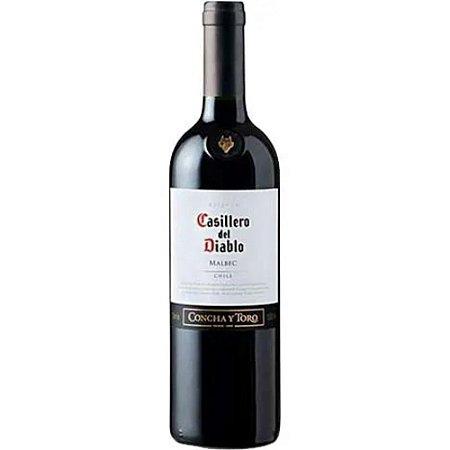 VINHO CASILLERO DEL DIABLO RESERVA MALBEC 750ML
