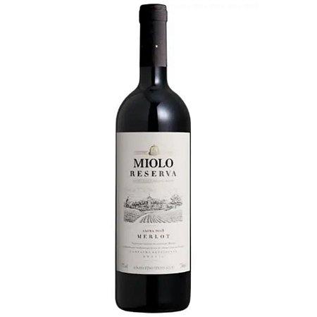 VINHO MIOLO RESERVA MERLOT 750ML