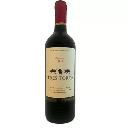 VINHO TRES TOROS CARMENERE 750ML