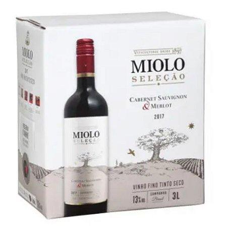 VINHO MIOLO BAG TINTO 3 L