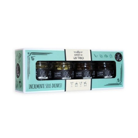 KIT EXPERT BR SPICES GIN TONICA C/4 40G